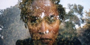 "Felicia Megginson, ""Untitled"", from the ""Communion"" series, 2001, chromogenic print, 20x24""."