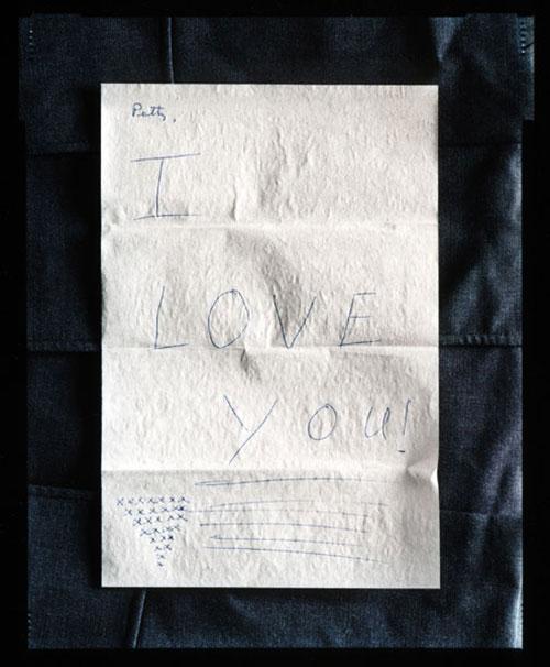"""Johnny Miller, """"Letter-November 11', 1967, 2003, C-print, 20x16"""""""