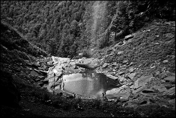 "Caleb Ferguson, ""Kaaterskill Falls"", 2010. Digital C-Print, 5x7"""