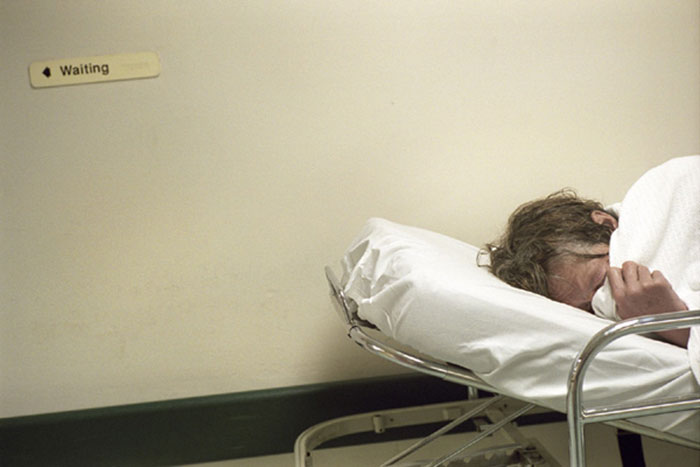 "Arantxa Cedillo, ""Emergency Room"", 2004, C-print"