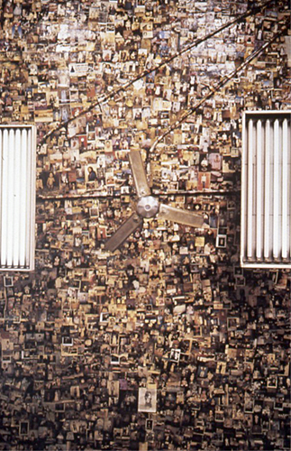 Aparecida do Norte from the Ex-votos series (Ceiling with fans), 1992, C-print