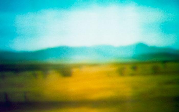 """Epic Film Stills (Out of Africa 1:27)"", 2001, plexi, aluminum, polyester Light Jet  print."