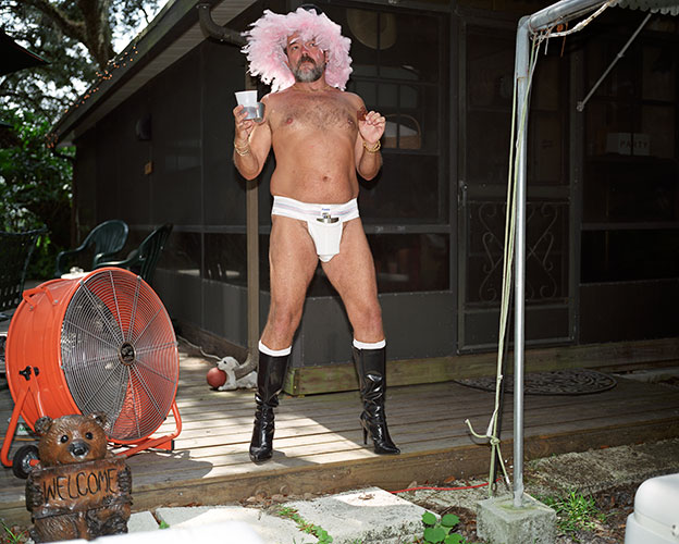 """Welcome"", from the series ""Gay Campground"", 2005 – 2011, Archival Pigment Prints, 20x24"""