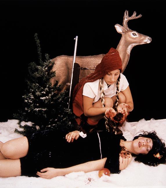 "Chloe Potter, ""Untitled (deer)"", 1999, C-print."