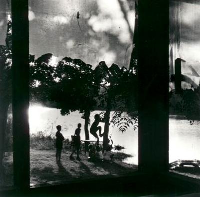 "Debbie Fleming Caffery, ""May Van's Camp"", 1988, Photo Gravure. Courtesy Ricco/Maresca Gallery, NYC."