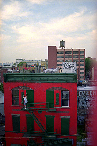 "Cheryl Dunn, ""Brooklyn Climber"", 2003, c-print, 24 x 20"""