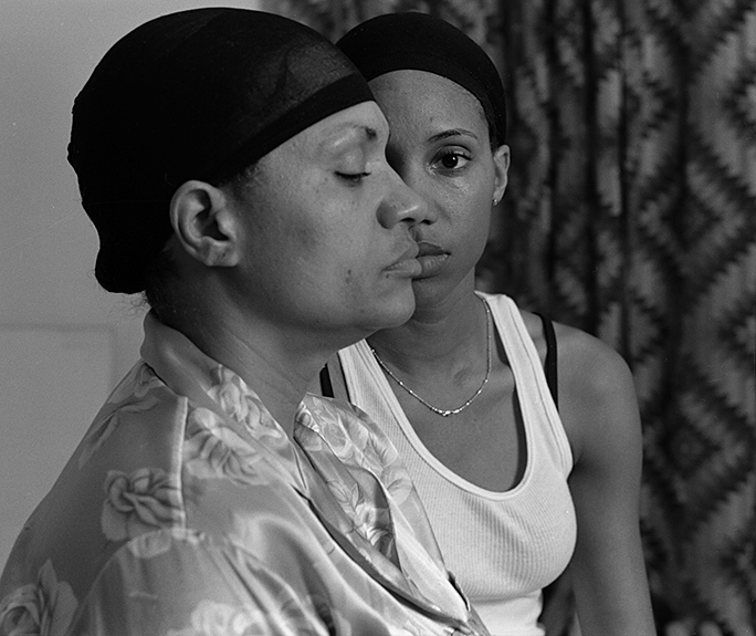 "LaToya Ruby Frazier, ""Momme"", from the series ""The Notion of Family"", 2008, silver gelatin print, 14 1/2 x 19 1/2"""