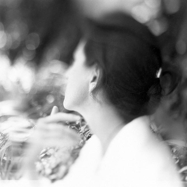 """Herminia Dosal, """"Laura's Dream"""", 1998, Silver gelatin print, 20x20""""."""