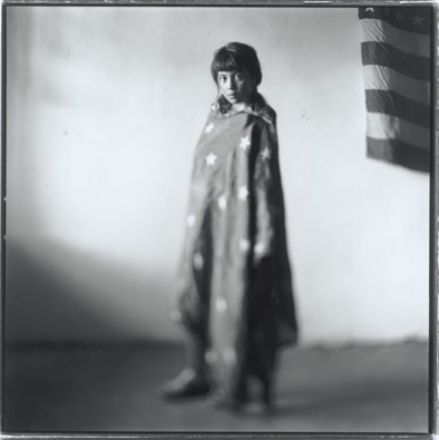 "Keith Carter, ""Maricella"", 1998, Gelatin Silver Print, Courtesy Howard Greenberg Gallery, NYC"