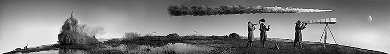 "Kahn/Selesnick, ""Panorama (detail)"", 2004, Quadtone (archival) digital print, 2x130""."