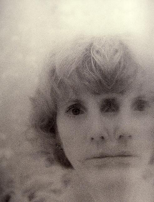 "Marcia Reid Marsted, ""My Third Eye"", 1997, Infrared Gelatin Silver."