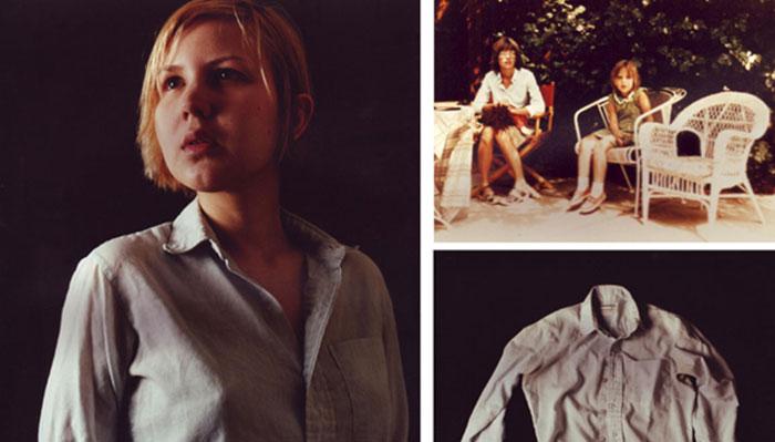 "Margarida Correia, ""Untitled (Triptych)"", 2004, c-prints, Image 1 20x24"", Image 2 11x14"", Image16x20"""