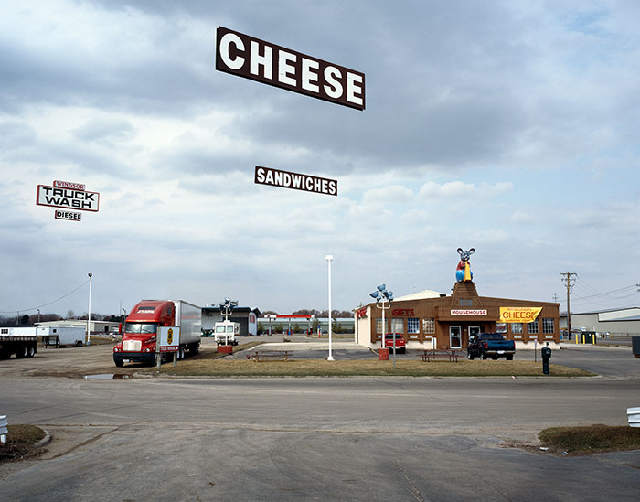 Matt Siber, Cheese, 2006, archival ink-jet print, edition of 8, 24 x 29""