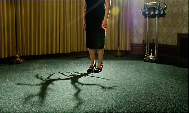 "Emily Hanako Momohara, ""Tree"", from the series ""Koden"", 2009, archival pigment print, 22x34"""