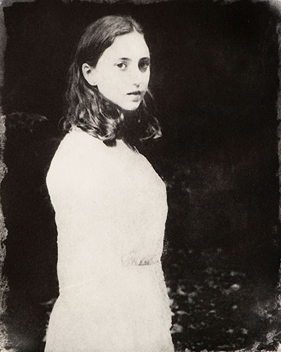 """Dion Ogust, """"Girl"""", 1997/2011, solar print, 8x10"""""""