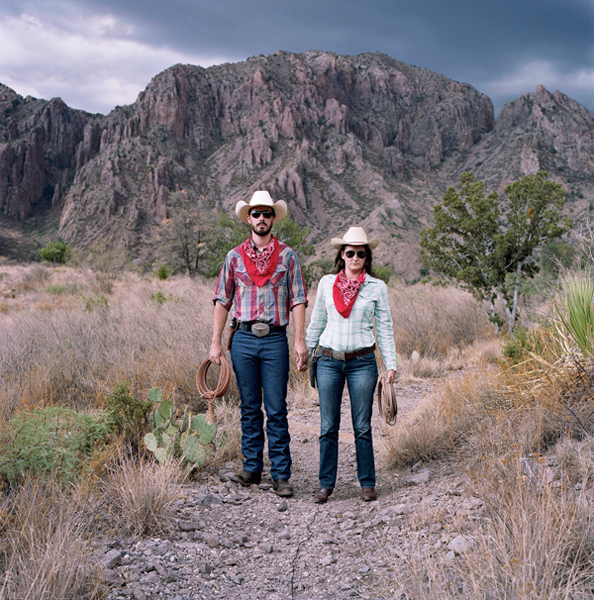 """Big Bend"" from the series ""Pilgrimage"" 2011, Archival pigment print, 30x30"""