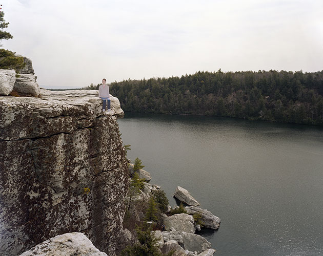 Reka Reisinger, Untitled (Minnewaska), 2004, archival ink-jet print, edition of 5, 30 x 40""