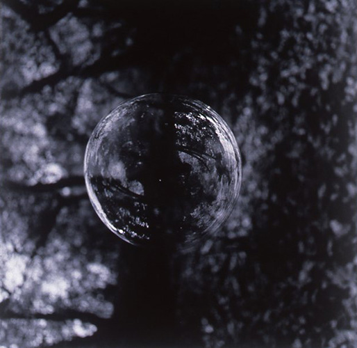 Yoshi Sugitatsu, Untitled,1999, from the series The Soup Bubbles, silver print, 15 x 15""