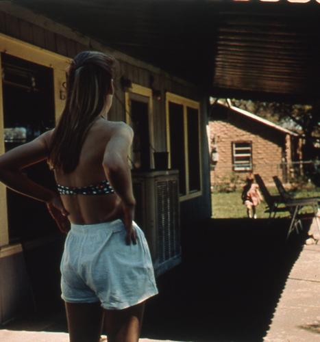 """Front Porch, 1998, C-Print, 14 x 14"""""""