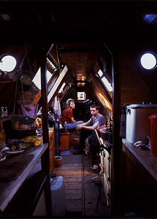 "Tom Hunter, ""Traveler Series V (Canal Boat)"", 1996-98, Cibachrome, ed# 8/12, 24x20' Courtesy WhiteCube, London"