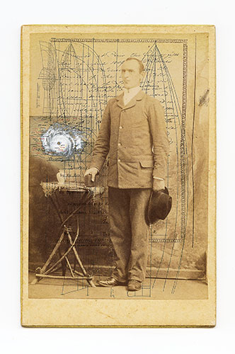 "Bradly Dever Treadaway, ""Shipbuilders 011"", from the ""Shipbuilders"" series, 2011, archival inkjet print, 28x26:."