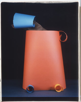 "William Wegman, ""Prototype"", 2001 20x24"" Color Polaroid."