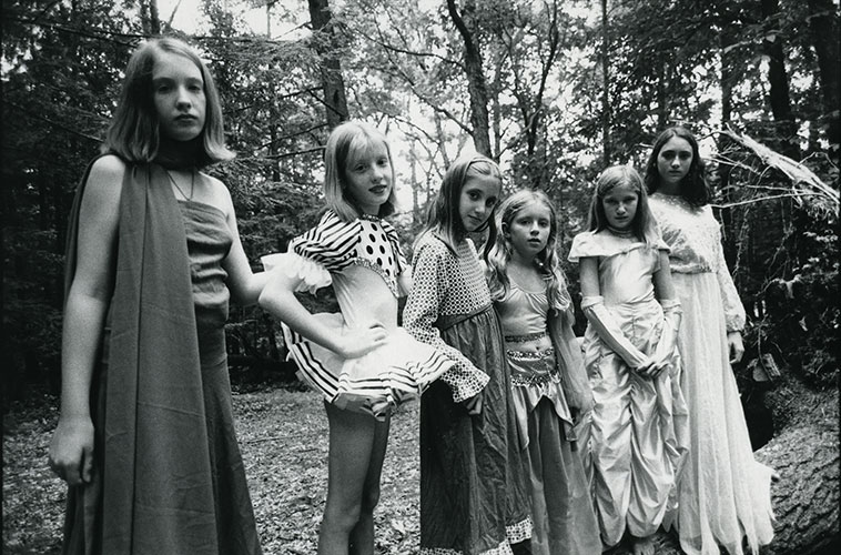 "Marty Wohl, ""Babes in the Woods"", 1997, gelatin silver print, 11x14"""