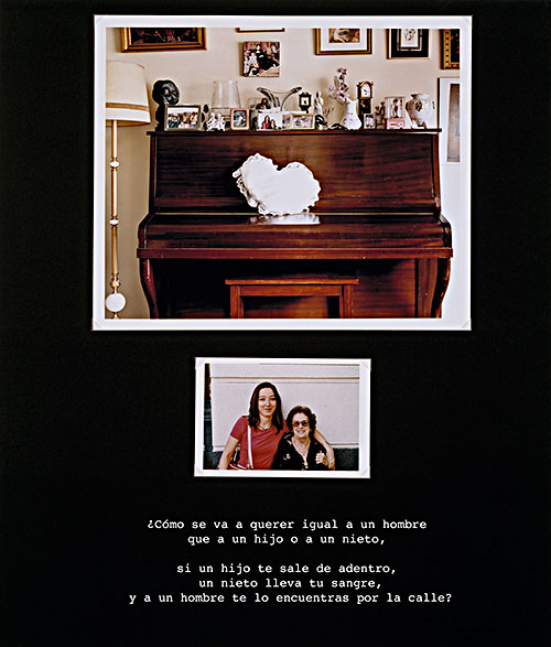 "Yolanda del Amo, ""My Little One Comes First #02"", 2004, digital C-print"