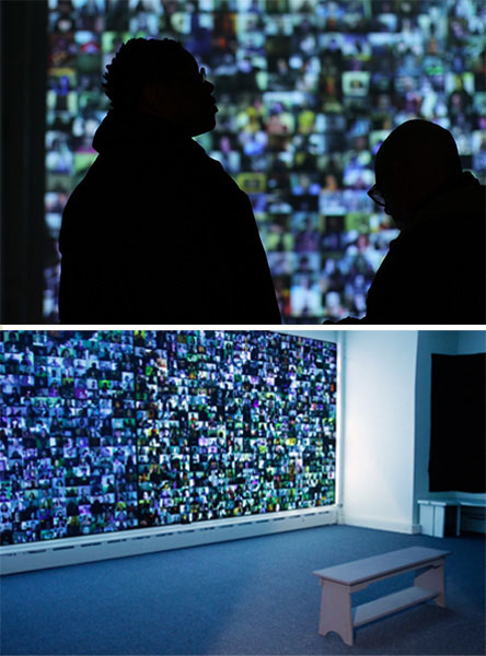 "Christopher Baker, ""Hello World! or: How I Learned to Stop Listening and Love the Noise"", 2008, multichannel audio-visual installation, dimensions variable, duration 1:09:10"