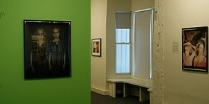 Installation View of Doubles, Dualities, & Doppelgangers
