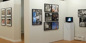 "Installation view of ""Camp: Visiting Day"""
