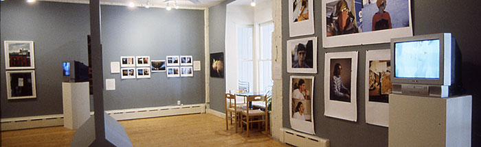 Installation view of FRESH: Youth Culture in Contemporary Photographs