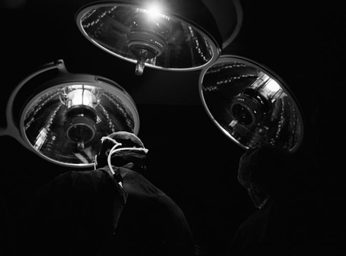 "Tony Chirinos, ""Surgical Theater"", from the series ""The Surgical Theater"", 2009, gelatin silver print, 16 x 20"""