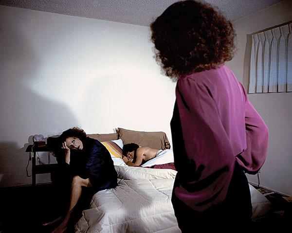 "Eileen Cowin, ""Untitled"", 1981, from the series ""Family Docudrama"", C-print, 16x20""."