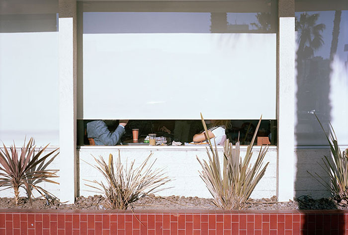 "Isaac Diggs, ""Untitled (Couple at Table)"", 2011, Archival Pigment Print, 13 1/4 x 19 1/2"""