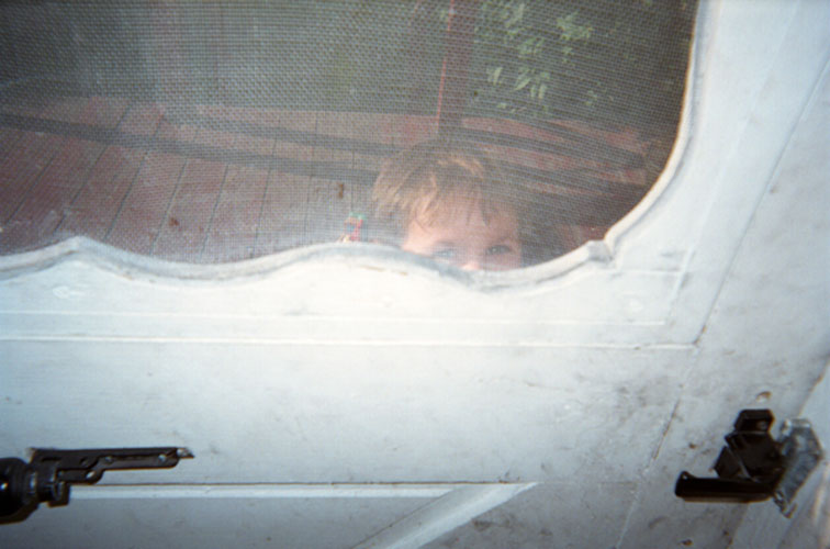 "Grace Doherty, ""Kevin at Door"", 2007, C-Print, 16x20"""