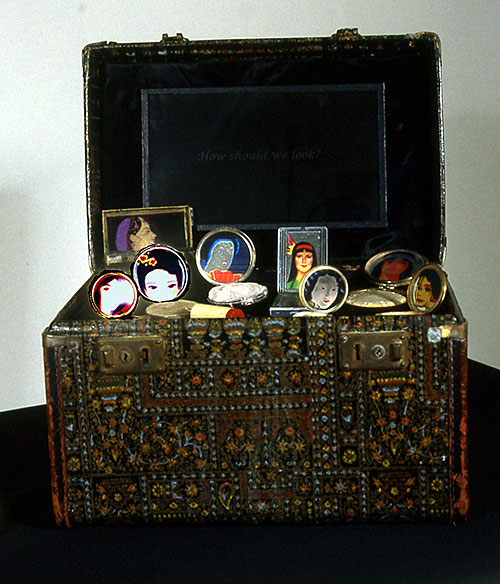"Dorothy Imagire, ""Our Cosmetic Case"", 2002-03, mixed media"