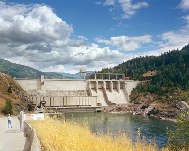 "Thomas Gardiner, ""Seven Mile Dam, British Columbia, Canada"", 2009, digital c-print, 30 x 40"""