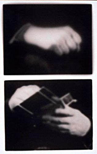 "Sandra Johanson, ""Reconstruction 5 & 9"", 2001, toned gelatin silver print"
