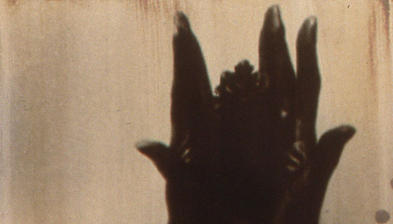 "Juri Kim, ""Somewhere"", 2000, photo emulsion, oil, high glass varnish on canvas, 24x20""."