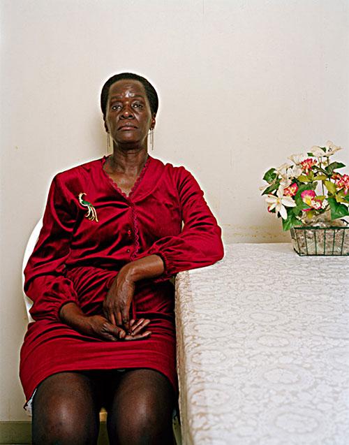 "Deana Lawson, ""Diane"" 2005, C-print, 24x20"""