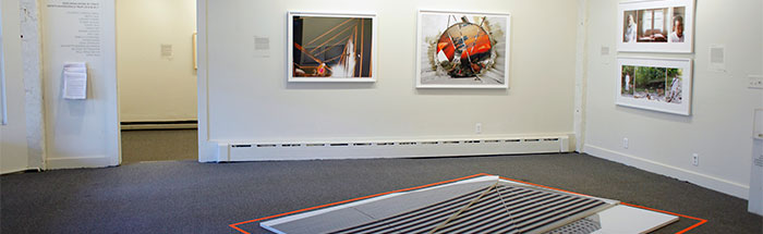"Installation view of ""Made In Woodstock VI"""