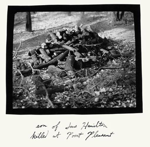 "John Mann, ""Untitled, (Son of Jane Hamilton)"", 2002, platinum/palladium print with ink"