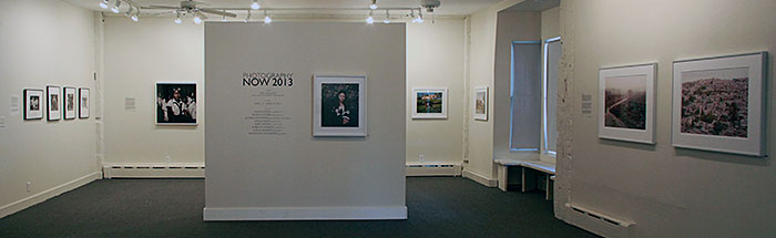 Installation View of Photography Now 2013