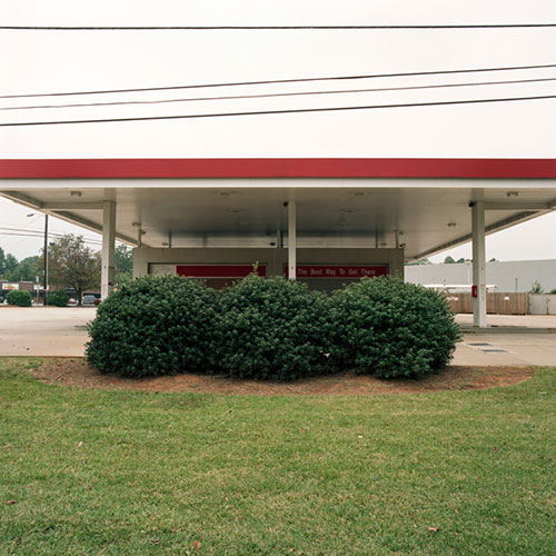 "Brook Reynolds, ""Bush"", from the series ""Light, Sweet, Crude"", 2009, archival pigment print, 20 x 20"""