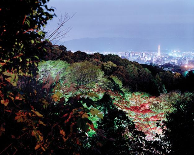 "Christina Seely, ""Metropolis 35°00'N 135°45'E (Kyoto)"", 2005 - 2010, digital c-print, 30 x 38"""