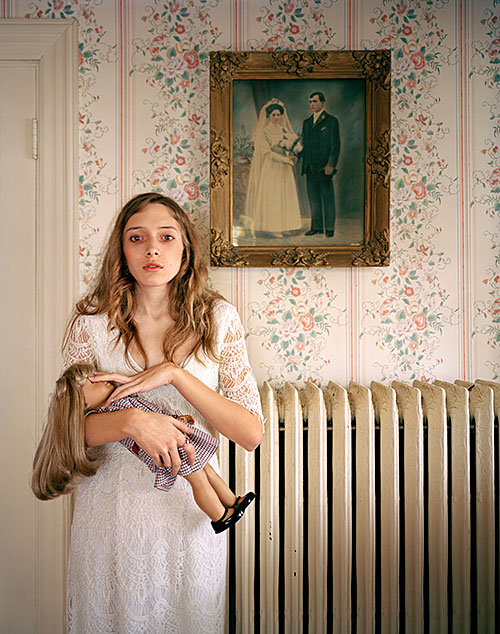 "Ilona Szwarc, ""Kayla, Boston, MA, 2012"", 2012, from the series ""American Girls"", archival pigment print, 20x16"""