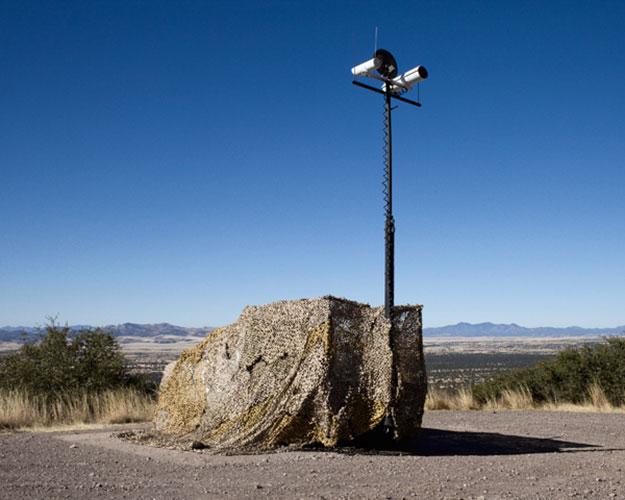 "Eric White, ""Camo Surveillance Vehicle"", 2009, giclee print, 20 x 16"""