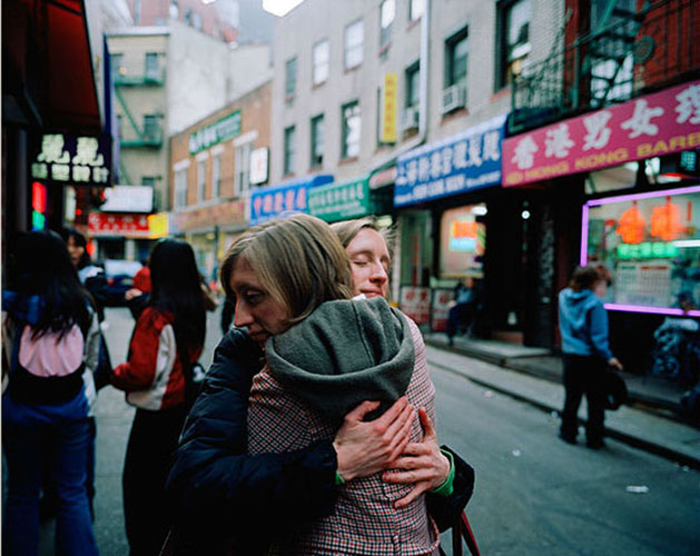 "Carrie Will, ""Rikki and Carrie, China Town (#2)"", 2006, from the series ""I Am Redundant"", archival pigment print, 20x24""."